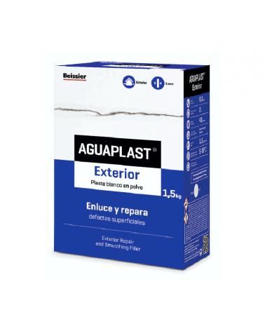 Aguaplast exterior enluce defectos superficiales en hormigón